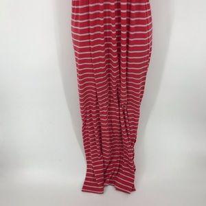 Faded Glory Dresses - Faded Glory Striped Strapless Maxi Dress